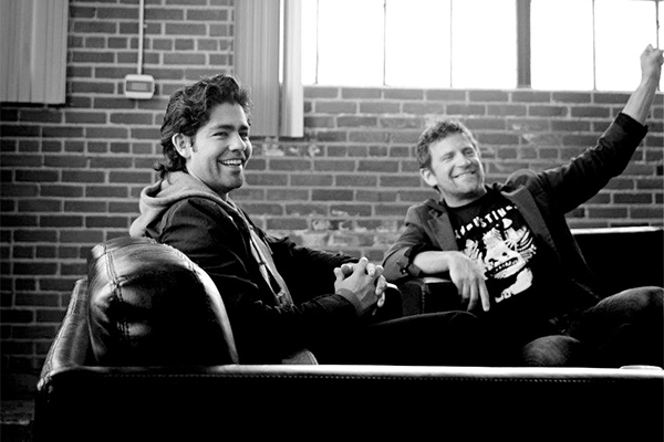 adrian grenier + chase on cjLIVE