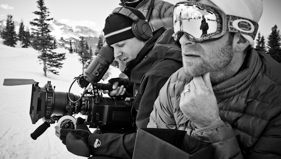 Chase & Director of Photography Chris Bell in Telluride