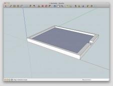 iPadHolder SketchUp