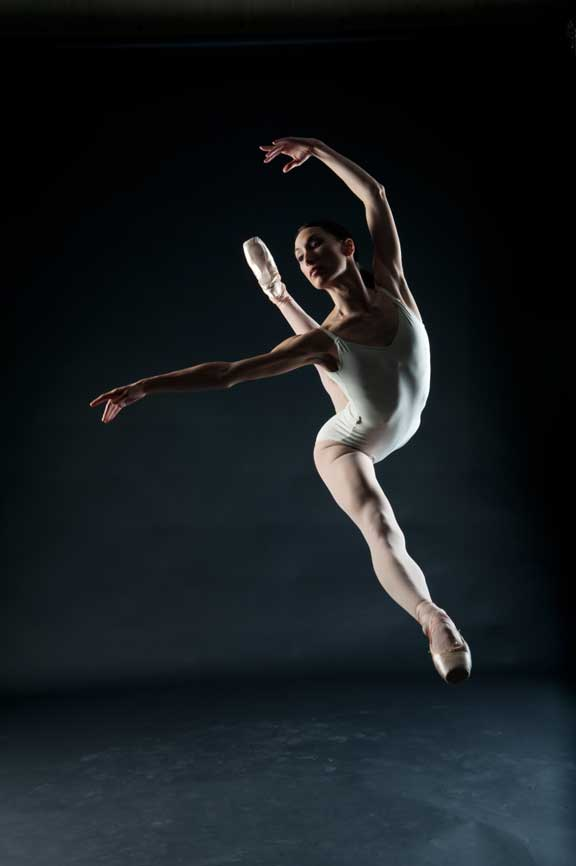Original Dancer Photo for NYC Ballet Study