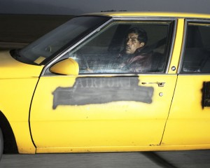 Man heading south at 73 mph on Interstate 5 near Buttonwillow Drive outside of Bakersfield, California, at 5:36 p.m. on a Tuesday in March 1992