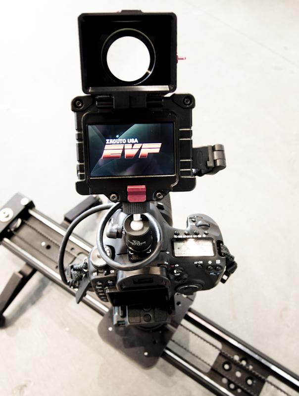 Zacuto EVF Pro on Canon 7D