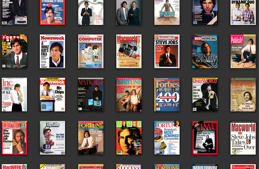 Steve Jobs Magazine Covers_Kuo Design