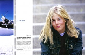 Sarah Burke Freeskier Feature