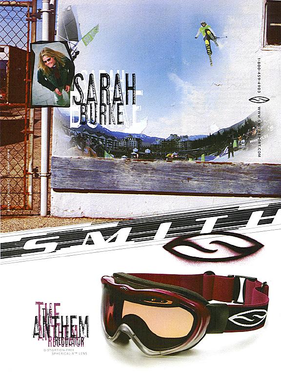 Sarah Burke Smith Ad