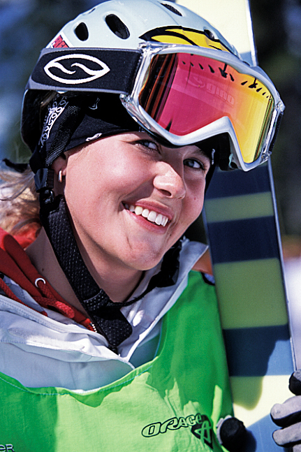 Sarah Burke at the X Games