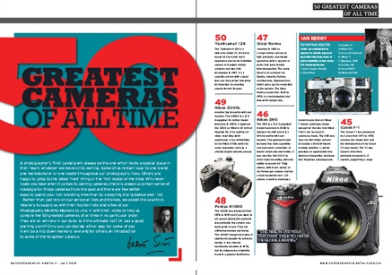 The 50 Greatest Cameras of All Time?
