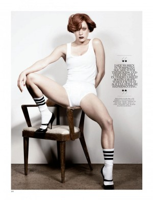 All images by Craig McDean, and courtesy of Fashion Gone Rogue and Interview Magazine