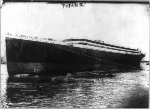 The RMS Titanic, courtesy of the Library of Congress