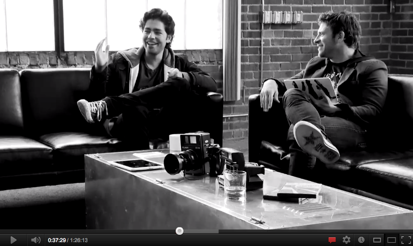 Adrian Grenier on chasejarvisLIVE