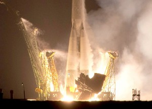 Expedition 22 Soyuz TMA-17 Launch