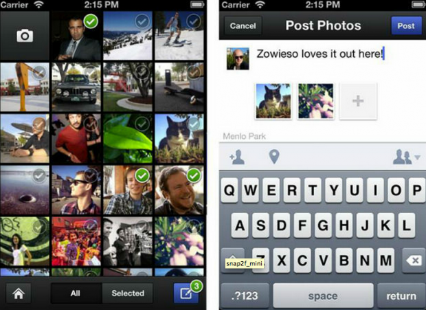 Facebook Photo App on Chase Jarvis Blog