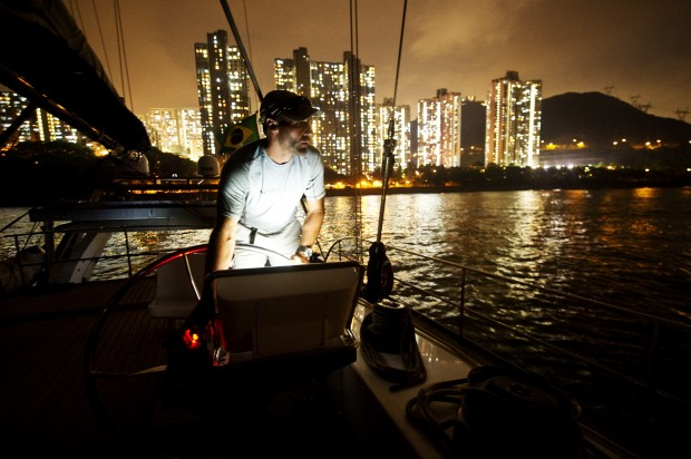 Onboard Pangea with Mike Horn, Hong Kong