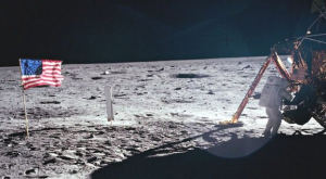 The only photo of Neil Armstrong taken by another person (Photo: Buzz Aldrin/NASA)
