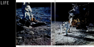 Life magazine feature of 1969 Lunar Landing (Photos: Neil Armstrong/NASA)