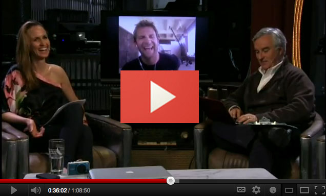 Chase Jarvis Interviewed On Twit Photo With Leo Laporte Catherine Hall