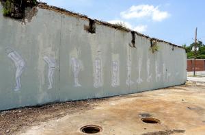 Atlanta Hyuro Wall in progress (Photo via Vandalog photo stream)