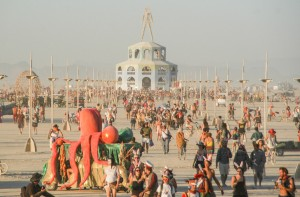 Burning Man 2012 - the man