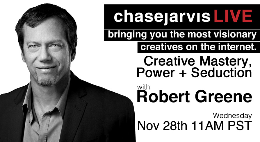20121128 cjLIVE Robert Greene