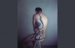 Richard Learoyd, 'Man with Octopus Tattoo II', 2011.