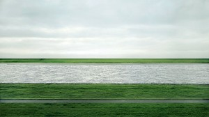Andreas Gursky's Rhein II (not part of the National Gallery exhibit)