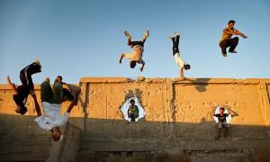 Parkour in Gaza by Ali Ali