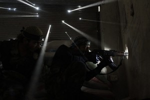 Syrian snipers by Javier Manzano