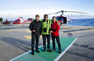 Erik, Chase, Jerard - Post Monaco Helo
