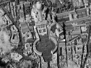 The Vatican, Easter 2012. Photo courtesy of DigitalGlobe.