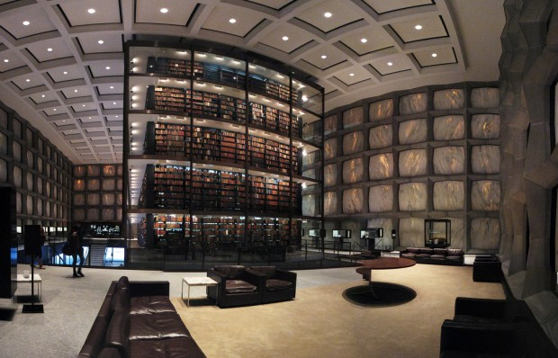 ChaseJarvis_Locations_Libraries_LaurenManning_YaleUniversityBeineckeRareBookandManuscript Library_AmyRollo