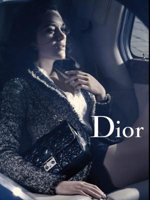 Dior ad, vertical