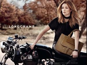 Longchamp ad, horizontal