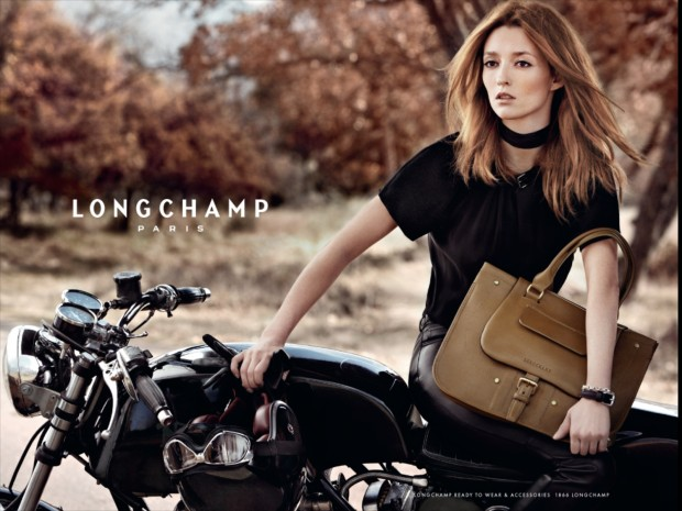 Longchamp ad, horizontal