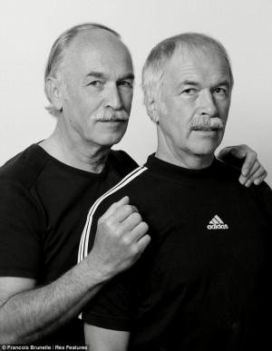 Maurus Oehman and Rudi Kistler. Photo Courtesy of Francois Brunelle / Rex USA