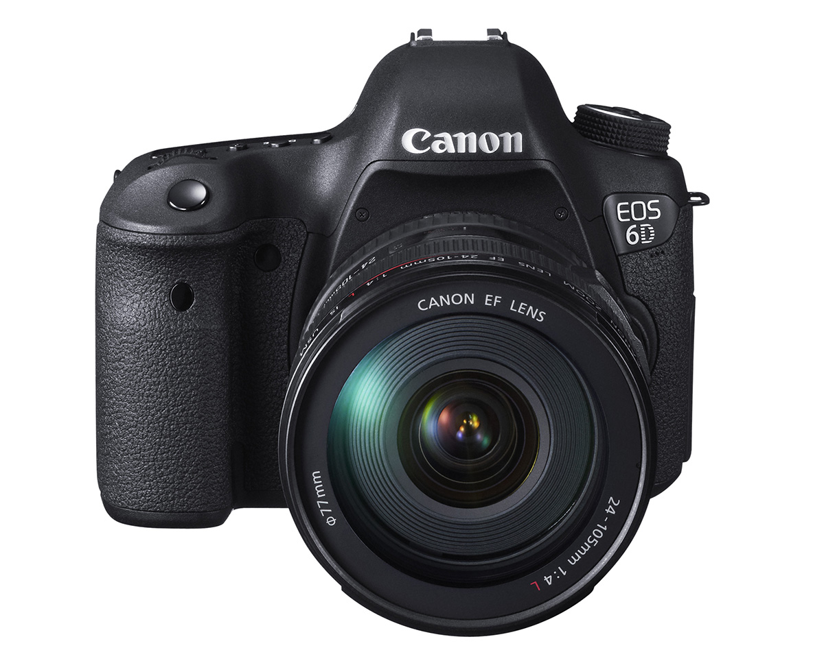 Canon EOS 6D DSLR Camera with 24-105mm Lens
