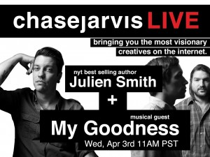 chase jarvis Julien + My Goodness Home Page Graphic
