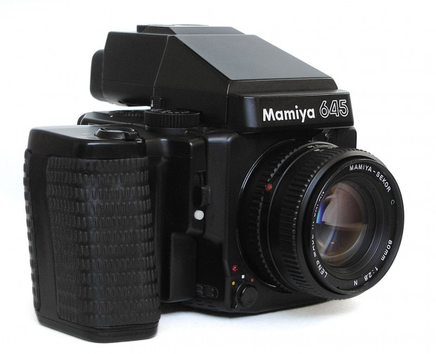 Mamiya 645. Image courtesy Wikipedia.