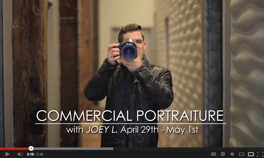 joey L on creativeLIVE