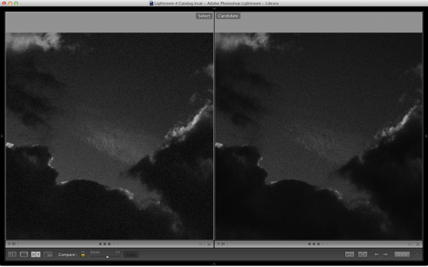 VSCO Film on the Left, Nik Silver Efex on the Right, 100% crop