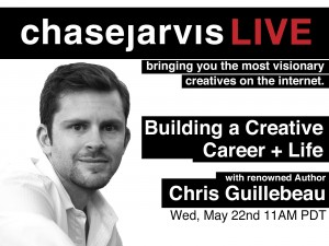 20130522 cjLIVE Chris Guillebeau Home Page Graphic