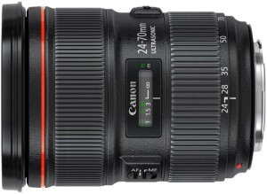Canon 24-70mm f/2.8 Mark II