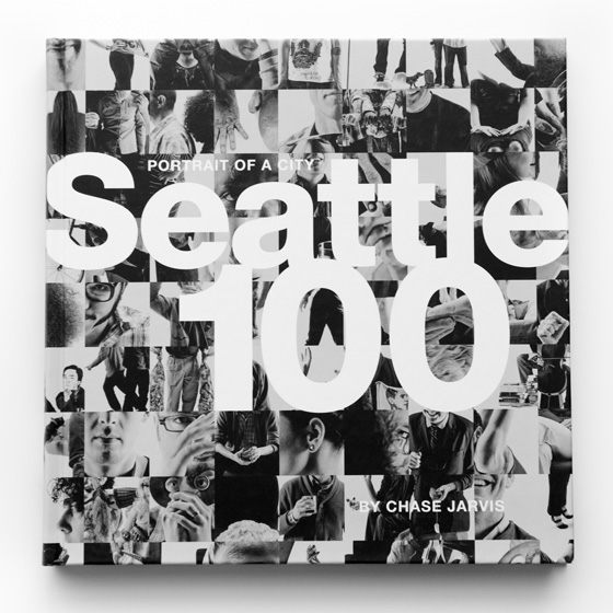 chase jarvis seattle 100 book cover