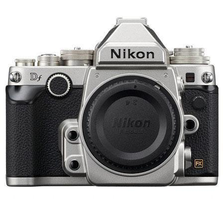 Nikon Df camera in silver