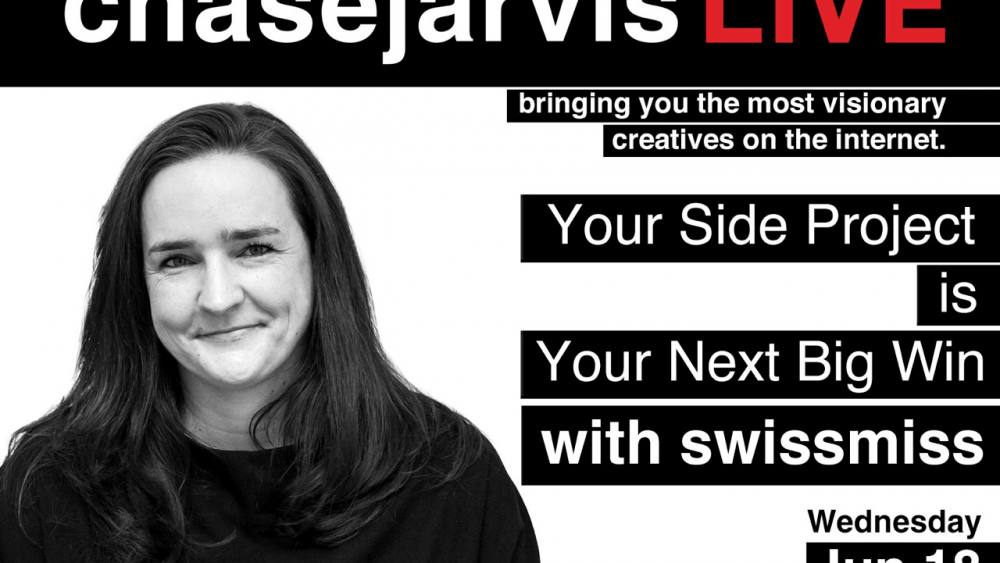 cjLIVE Tina Roth Eisenberg Your Side Project Is Your Next Big Win