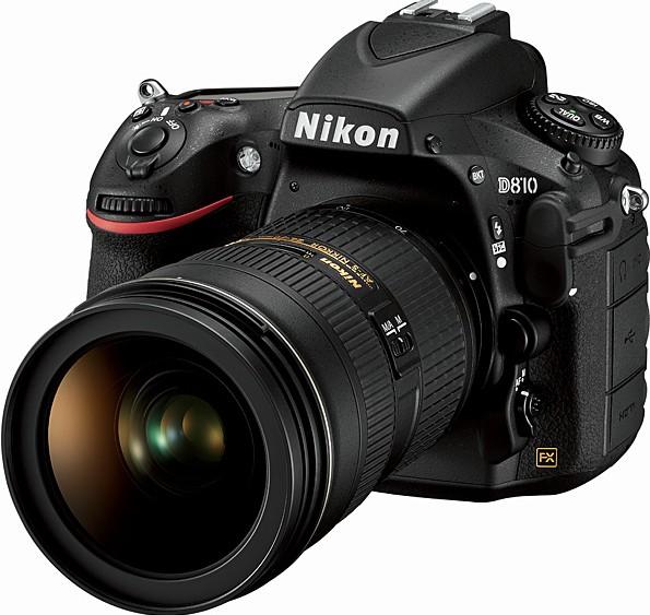 Nikon D810 via Adorama