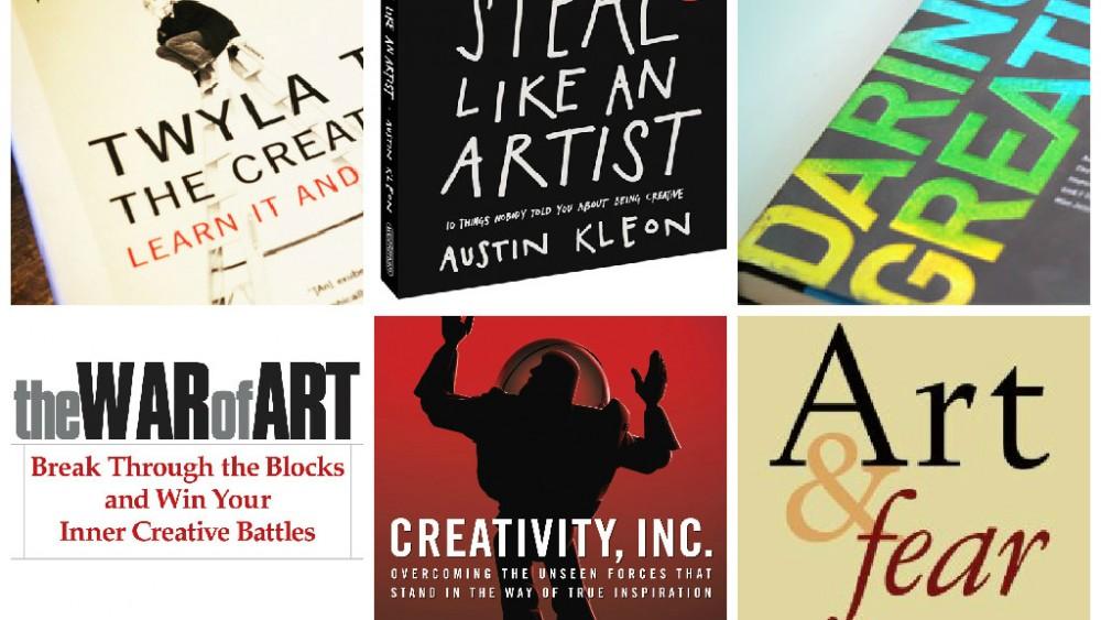 6 creativity books