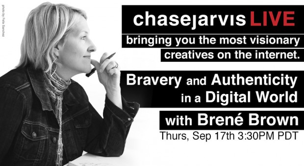 cjLIVE Brené Brown Bravery and Authenticity in a Digital World
