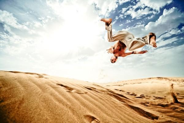 Sand Dunes Jump