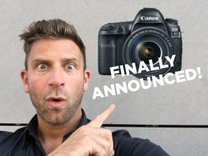 Canon 5D Mark IV Announced