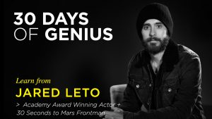 Jared Leto 30 Days of Genius Interview